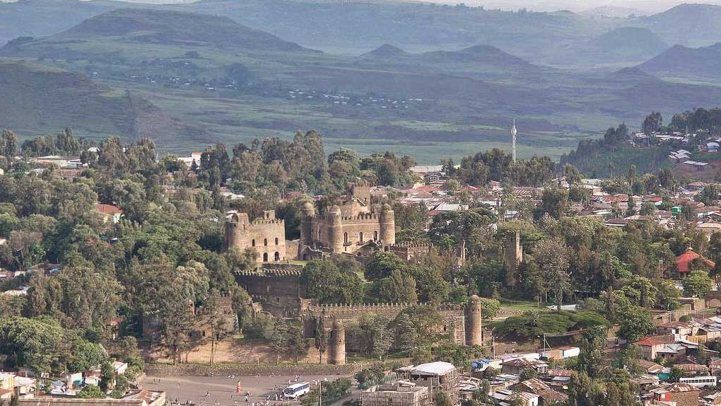 Day 2: flight to Gondar and Drive from Gondar to sankaber